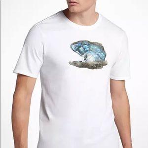 Nike NSW Abalone Tee Mens Black Shirt Size M